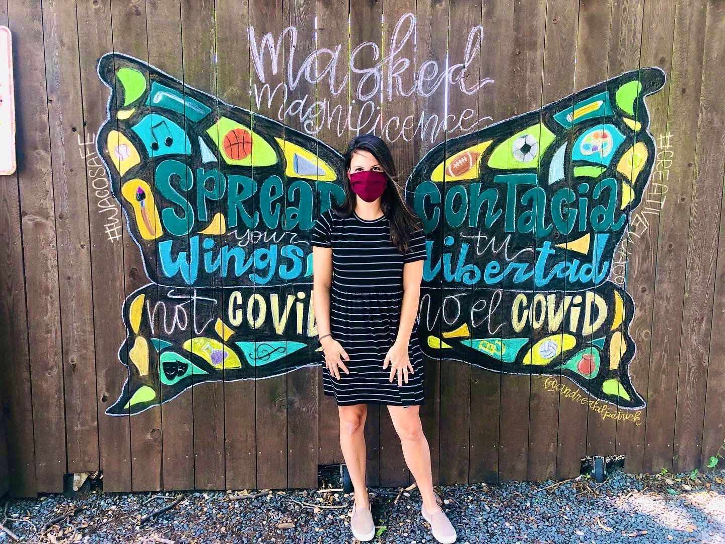 Spread Your Wings not Covid Image