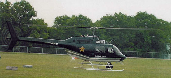 Sheriff's Office Helicopter