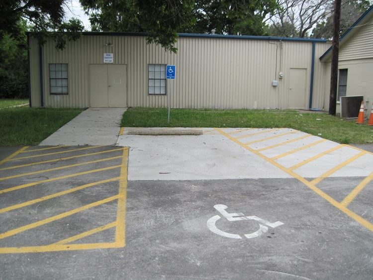 Robinson Community Center Parking