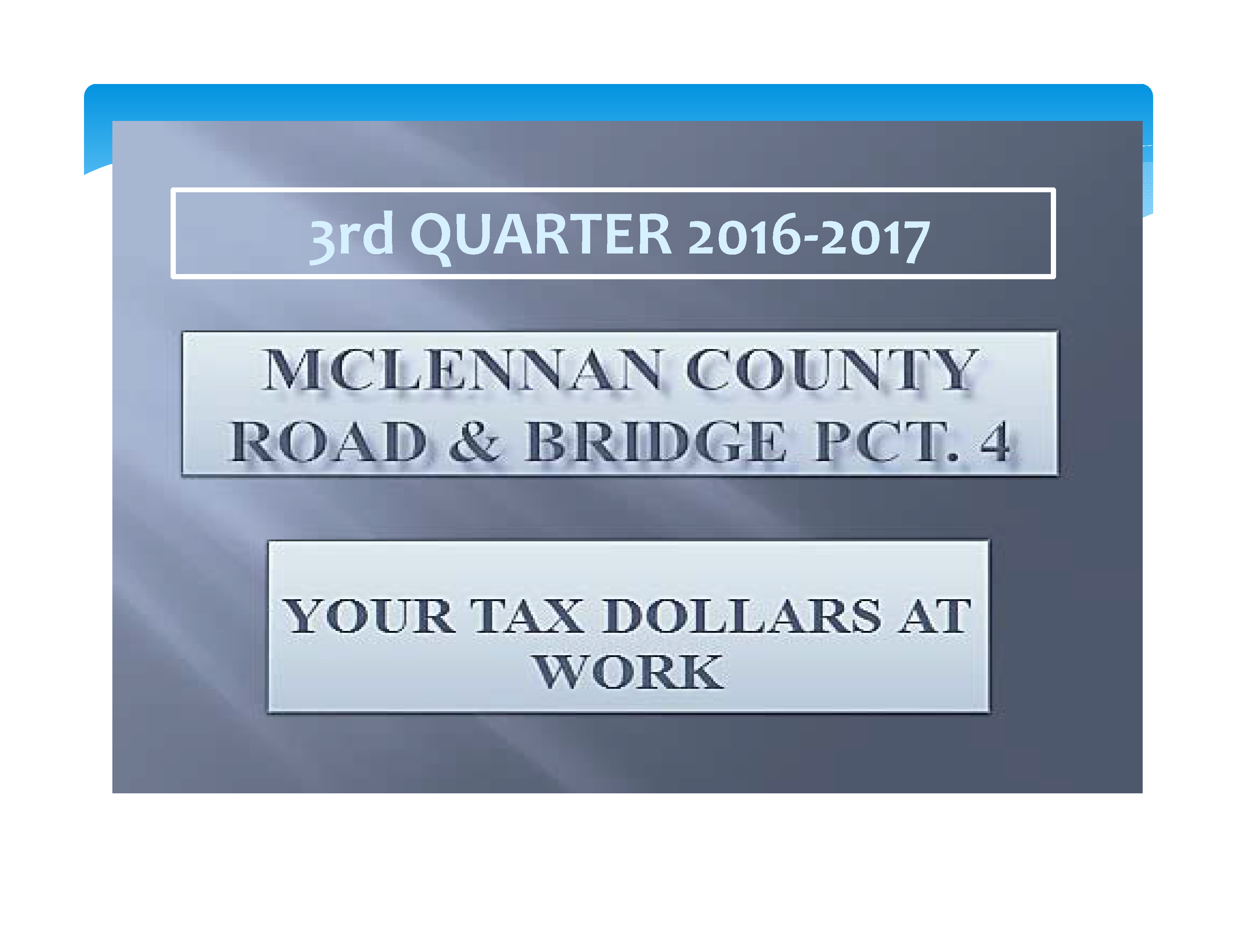 3rd  Quarter 20 17-18 Report  for web_Page_01
