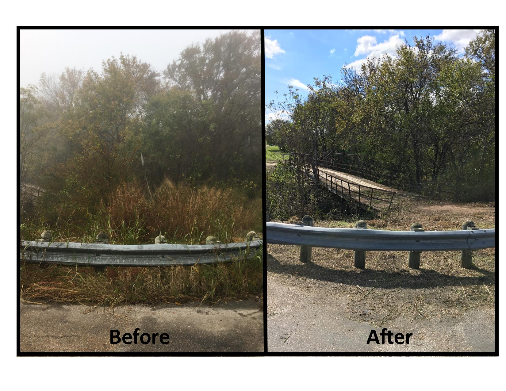 Iron Bridge Before and After 2
