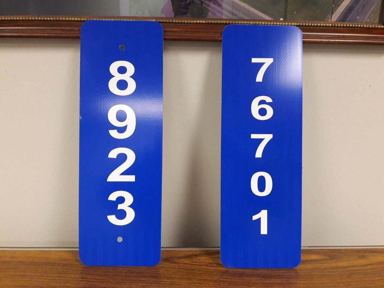 Image of Mailbox Numbers
