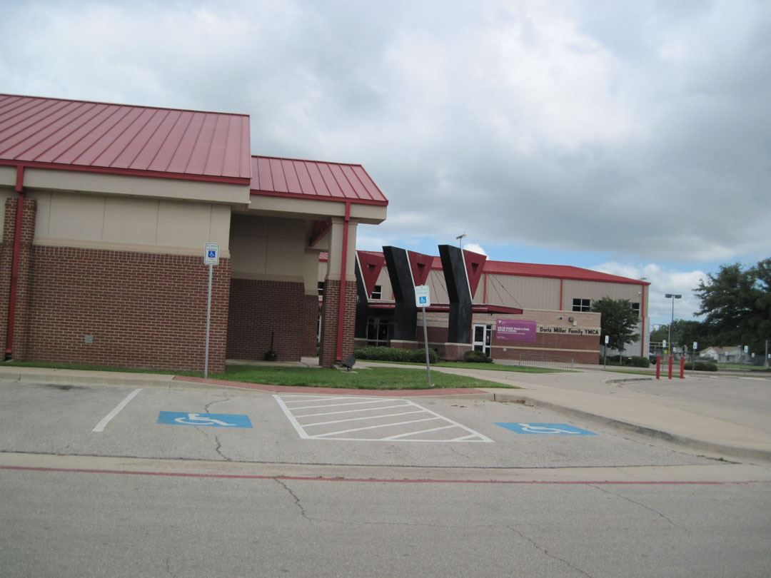 Waco Multi-Purpose Community Center Disabled Accessible Entrance