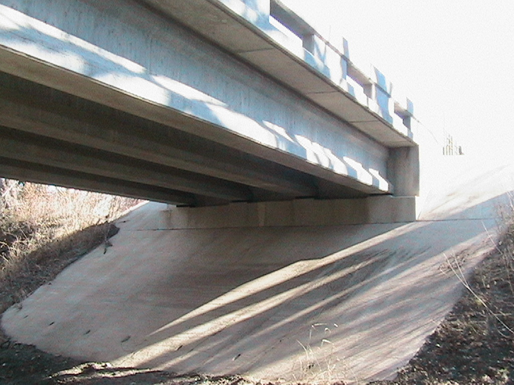 View of the bridge from underneath
