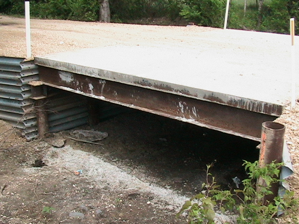 View of the Dulak Bridge completed