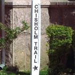 Sign for the Chisholm Trail Heritage Festival