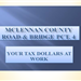 McLennan County Precinct 4 Budget - Your Tax Dollars at Work